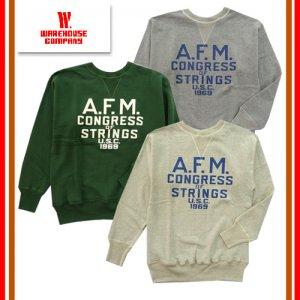 401 「A.F.M.」 セットインクルーネックスウェット