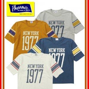 19S-PFBT1 ナンバリングフットボールTシャツ