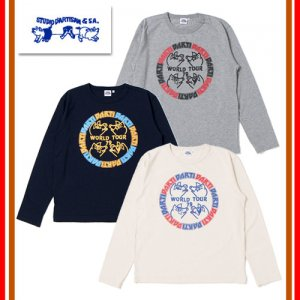 9955B プリント長袖Tシャツ