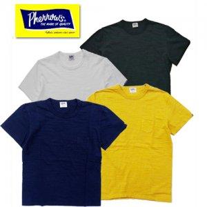 (ネイビーカラー追加) 19S-PSPT1 スラブコットンポケット付きTシャツ