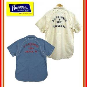 19S-778WSS-C コットンシアサッカーカスタムワークシャツ