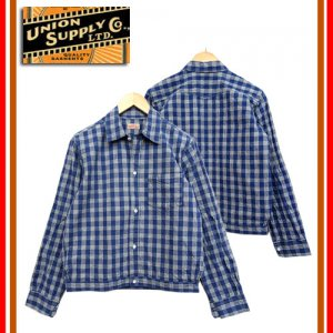 US13487 パラカジャケット PALAKA CHECK SHIRT BLOUSE
