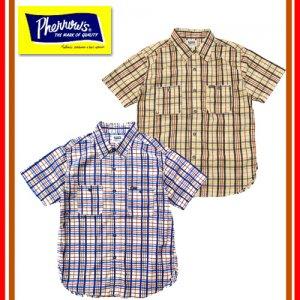 19S-720WSS-CH チェックワークシャツ