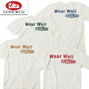 651904 「UES WEAR WELL T」 プリントTシャツ