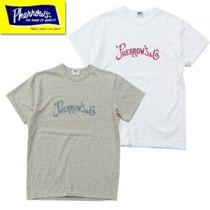 19S-PTP-PRS ロゴ刺繍Tシャツ