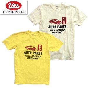 651906 「AUTO PARTS」 プリントTシャツ