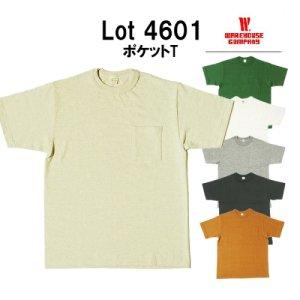 4601 ポケット付きTシャツ