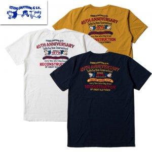 【予約4月末~5月】SP-051 USAコットン 40周年刺繍Tシャツ