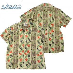 DK36206 「Abstract Coral Stripe」 HAWAIIAN SHIRTS