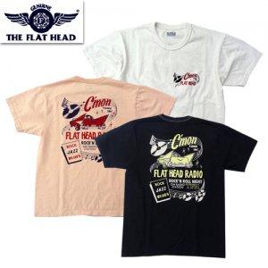 THC-221「FLAT HEAD RADIO」 プリントTシャツ