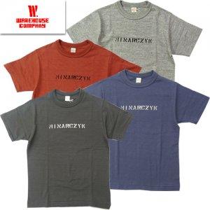 4601 「MINARCZYK」 プリントTシャツ