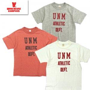 (ホワイト追加) 4601 「UNM」 プリントTシャツ