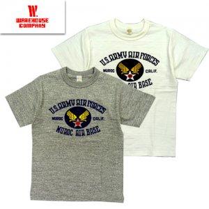 4601 「MUROC AIR BASE」 プリントTシャツ