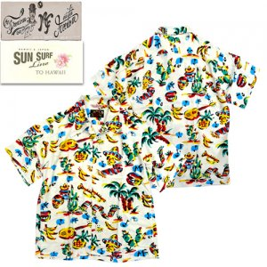 SS38090 Rock'n Roll Shirts 「YUCATAN」