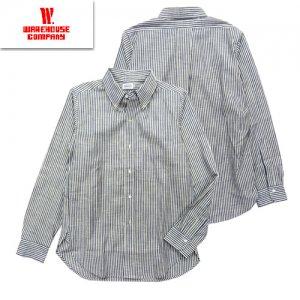 Lot3020 「L/S B.D SHIRTS」 ストライプボタンダウンシャツ
