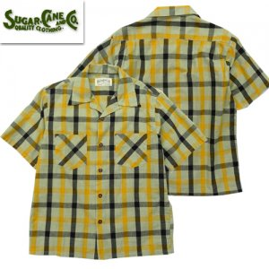 SC38196 「TOM SAWYER」 CHECK S/S OPEN SHIRTS