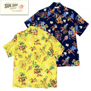 SS38037 「OCEAN TOY BOX」 HWAIIAN SHIRTS
