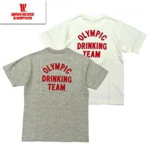 4601 「DRINKING TEAM」 プリントTシャツ