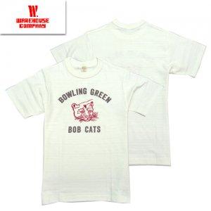 4601 「BOB CATS」 プリントTシャツ