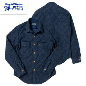 5634 デニムキルトシャツ