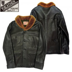 【予約11月~入荷予定】TB-136 DEER SKIN&MOUTON 30'S CAR COAT