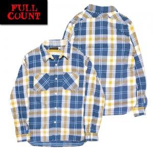 4021-1 チェックヘビーネルシャツ 「SOUTHER」