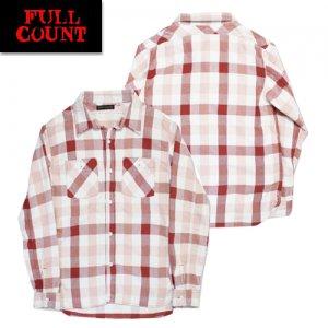 4021-2 チェックヘビーネルシャツ 「BROWNE」