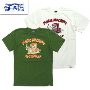 9974A USAコットン プリントTシャツ MUSIC MACHINE