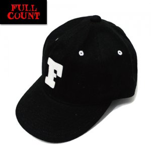 6112 「BLACK TWILL F BASEBALL CAP」