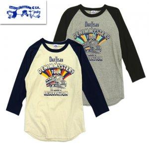 9981A ラグラン7分Tシャツ[DENIM MYSTWRY TOUR]