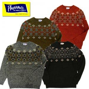 19W-PSFS1 ジャガードセーター
