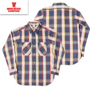 3104 FLANNEL SHIRTS D柄