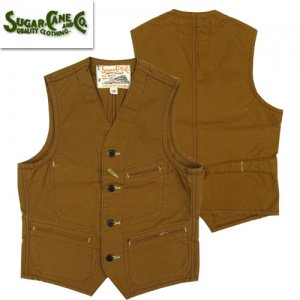 SC14375 「13oz BROWN DUCK WORK VEST」
