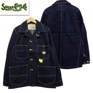 SC14371 「11oz BLUE DENIM WORK COAT」
