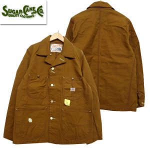SC14374 「13oz BROWN DUCK WORK COAT」