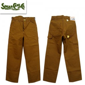 SC41824 「13oz BROWN DUCK WORK PANTS」