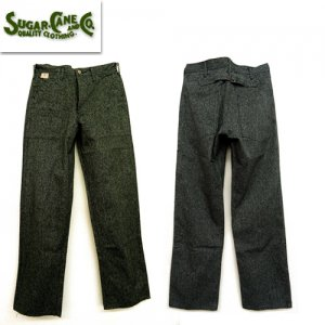 SC41825 「9oz BLACK COVERT ENGINEER PANTS」