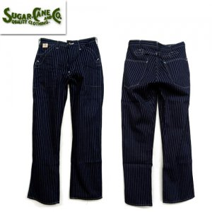 SC40786 「9oz WABASH STRIPE ENGINEER PANTS」