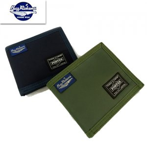 BR02580 BUZZ RICKSONS×PORTER コラボ 「HEAVY NYLON TWILL WALLET」