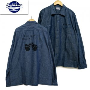 BR28279 「BLUE CHAMBRAY WORK SHIRT STENCIL」