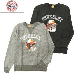 WV68330 「SWEAT SHIRT W/PRINT BERKERY」