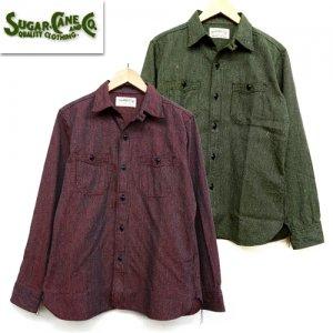 SC28283 「6.5oz INDIGO BEACH CLOTH WORK SHIRT」