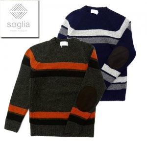 Landnoah Sweater ランドノア ボーダー セーター