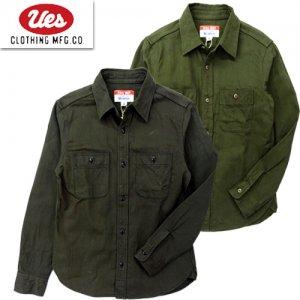 501956 ムラサテンワークシャツ