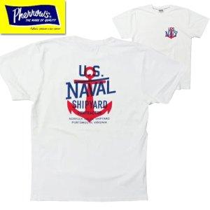 20S-PT5 「U.S.NAVY」プリントTシャツ