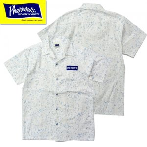 20S-PWDSS 半袖オープンカラーシャツ