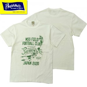 20S-PTJ4 「MSG FIELD FOOTBALL CLUB」 プリントTシャツ