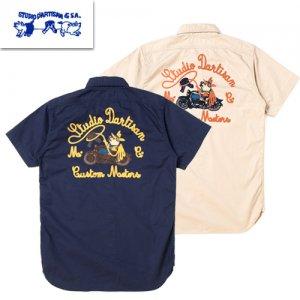 5642 刺繍ワークシャツ