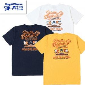 9999 USAコットン刺繍Tシャツ
