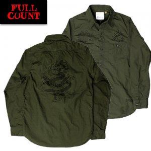 ALS-001 USN OD SHIRT コラボ ミリタリーシャツ